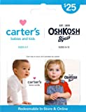 Carter's/OshKosh B'gosh Gift Card $25 thumbnail