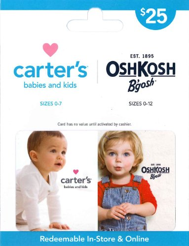 Carter's/OshKosh B'gosh Gift Card $25 image
