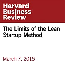 The Limits of the Lean Startup Method Other by Ted Ladd Narrated by Fleet Cooper