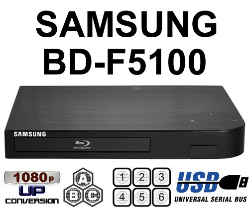 Samsung BD-F5100 MultiZone DVD Region Free PAL/NTSC Blu Ray Player Black Friday & Cyber Monday 2014