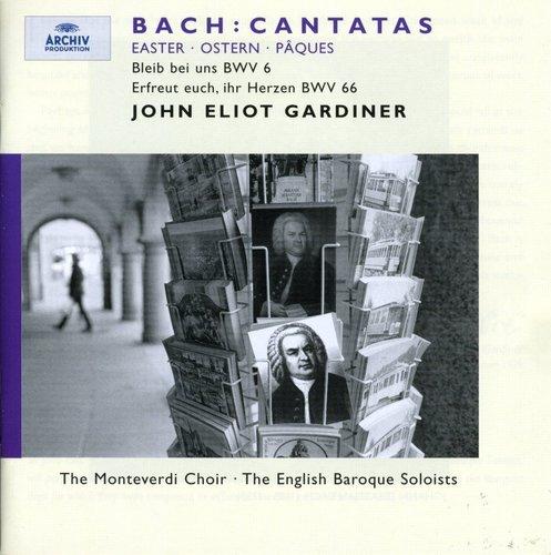 CD : BACH,J.S. / GARDINER - Easter Cantatas