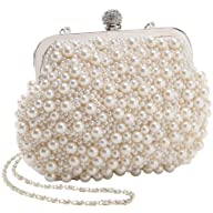 MG Collection Handmade White Pearl Be…