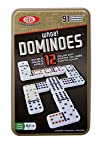 Ideal Whoa Double 12 Color Dot Dominoes