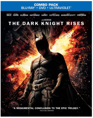 The Dark Knight Rises Blu-raydvd Comboultraviolet Digital Copy at Gotham City Store