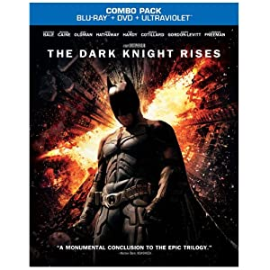 The Dark Knight Rises (Blu-ray/DVD Combo+UltraViolet Digital Copy) $18.99