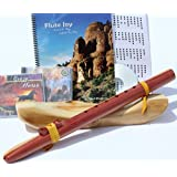 Native American Style Windpony Key of F#, 6-hole Cedar Native American Style Flute, Book & 3 Cds Starter Set (Retail Value $169.95) - Books and Cds