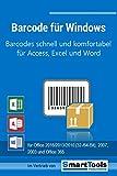 Software - Barcode f�r Windows - Barcodes mit Excel, Access und Word - f�r Etiketten, Serienbriefe, Formulare usw. - EAN-, ISBN-, Code 39-Barcodes