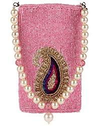 Ahankara Womens Mobile Pouch (Pink) (AMMP0000004)