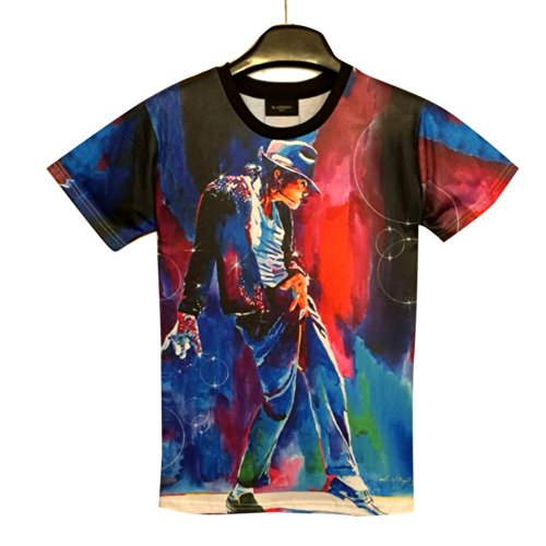 History Michael Jackson Shirt MJ Short Sleeve T Shirt (L)