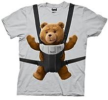 【新デザイン グレー ベイビーTEDがキュート!】 映画 テッド Tシャツ Ted コメディ ハングオーバー アメコミ 並行輸入