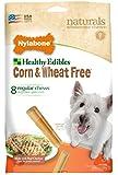 Nylabone Healthy Edibles Wheat and Corn Free Small Chicken Flavored Dog Treat Bones