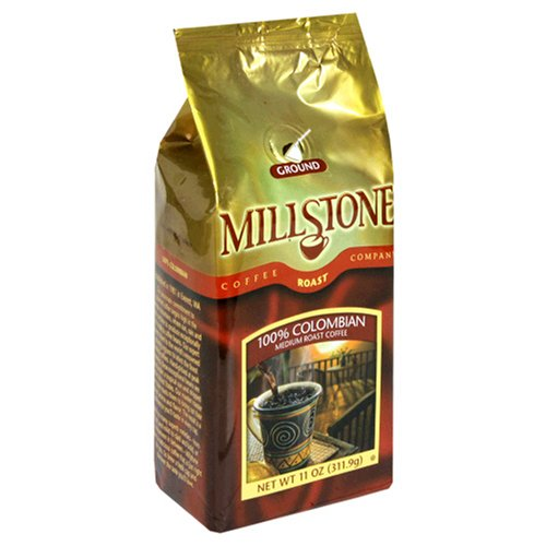 Millstone 100% Colombian Ground Coffee, 11-Ounce Packages (Pack Of 2)