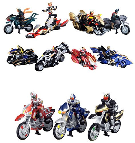 CWUE Masked Rider Machine Chara Wheels Ultimate Edition Figures