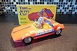 トムとジェリー ヴィンテージ 車 フィギュア Vintage Marx Tom and Jerry friction Car near Mint Boxed 1960's unplayed [並行輸入品]