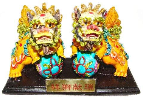 Feng Shui Foo Dogs