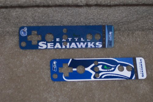 Seattle Seahawks NFL Nintendo Wii U Remote Dual Image Holographic Skin Covers - Set of 2 at Amazon.com