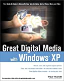 img - for Great Digital Media with Windows XP book / textbook / text book