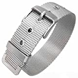 Trendy Stainless Steel Mesh Belt Style Bracelet