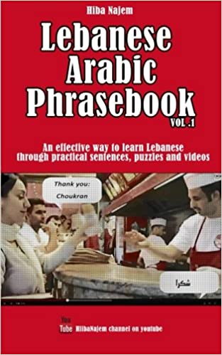 Lebanese Arabic Phrasebook Vol. 1