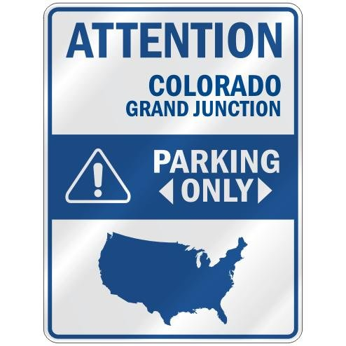 Grand Junction Parking Sign