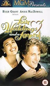 Four Weddings And A Funeral [VHS] [1994]