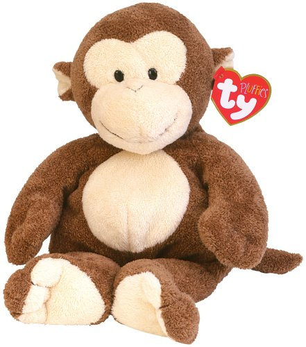 Ty Pluffies Dangles Monkey - 1