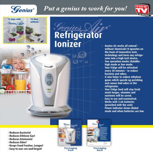 Buy Low Price GENIUS REFRIGERATOR IONIZER – AS SEEN ON TV (B0040UBKP0)