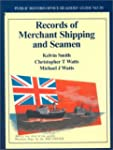 Records of Merchant Shipping and Seam...