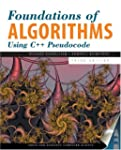 Foundations Of Algorithms Using C++ P...