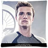 New Perfect Arts The Hunger Games Peeta Mellark Unique Custom Zippered Pillow Case 18*18inch Inches (Two sides)