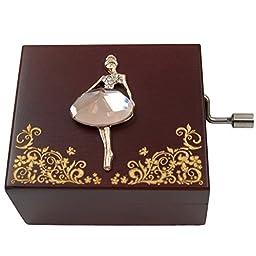 Mini Handcrank Music Box Tune of Fur Elise(Ballerine)