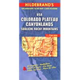 Carte routi�re : USA, Colorado Plateau, Canyonlands, S�dliche Rocky Mountainspar Carte Hildebrand