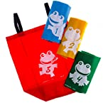 Frog Hop Sack Race Game Set