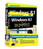 Windows 8 1 For Dummies Book + DVD Bundle