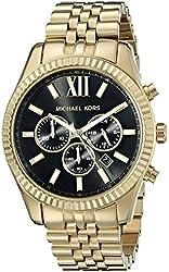 Michael Kors Men's MK8286 Lexington Gold-Tone Stainless Steel Watch