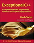 Exceptional C++: 47 Engineering Puzzl...
