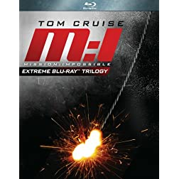 Mission Impossible Gift Set Collection (Mission: Impossible / Mission: Impossible II / Mission: Impossible III) [Blu-ray]