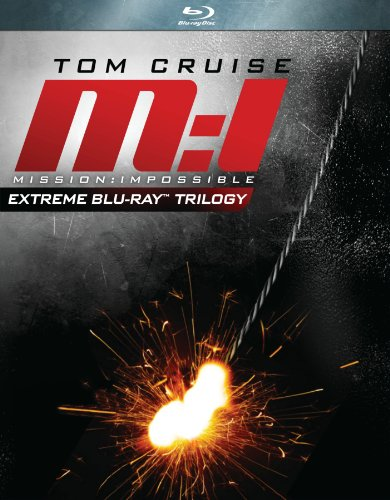 Cover art for  Mission: Impossible - Extreme Trilogy (Mission: Impossible / Mission: Impossible 2 / Mission: Impossible 3) [Blu-ray]