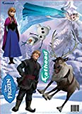 Disney Frozen Movie Wall Decals (Includes 5 Characters) - 9 X 17