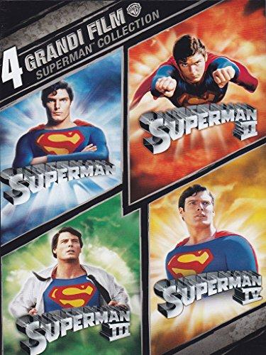 4 grandi film - Superman collection