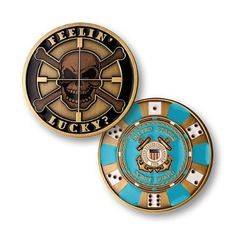 Feelin Lucky - Coast Guard Challenge Coin