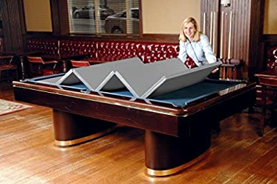 Hood Leather 481 46 x 92 In - Convertible Pool Table Cover