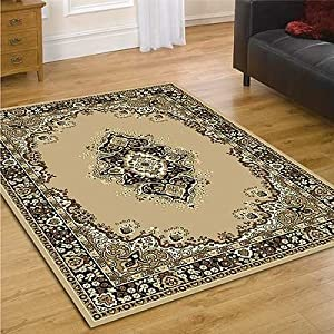 Element Lancaster Beige Contemporary Rug Rug Size: 320cm x 220cm (10 ft 6 in x 7 ft 2.5 in) by Flair Rugs