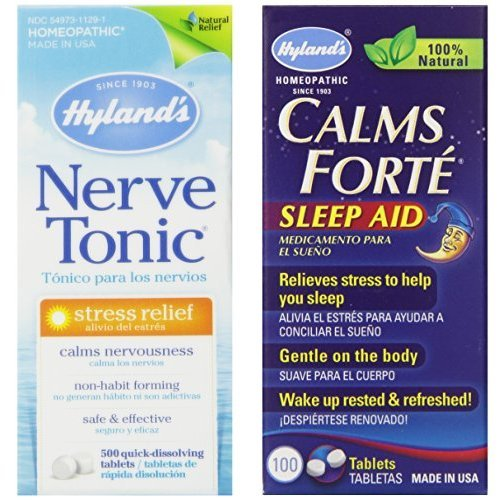 Hyland S Calms Forte Sleep Aid Amp Nerve Tonic Stress Relief