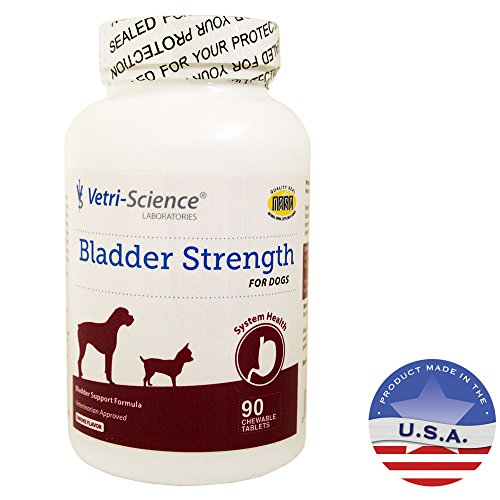 Vetri-Science Laboratories Bladder Strength Tablet for Dogs - 90 Chewable Tablets