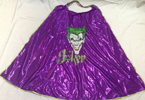 DC Comics Joker Adult Cape Costume Halloween