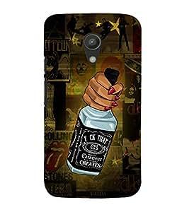 Wine Wiskey Daru Girl 3D Hard Polycarbonate Designer Back Case Cover for Motorola Moto G2 X1068 :: Motorola Moto G (2nd Gen)