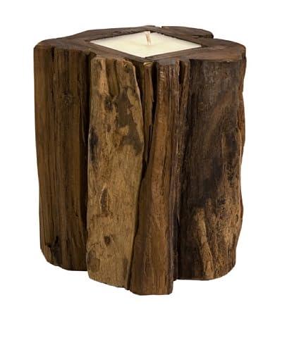 Medium Teakwood Candle