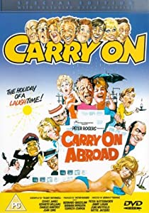 Carry On Abroad Dvd 1972 Amazon Co Uk Kenneth