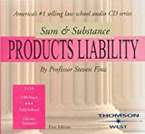 img - for Finz's Sum and Substance Audio on Products Liability (CD), 1996 (English and English Edition) book / textbook / text book